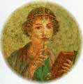 Roman Girl with Stylus